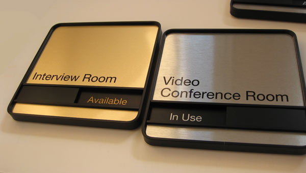 stylish conference room signs for professionals office sign