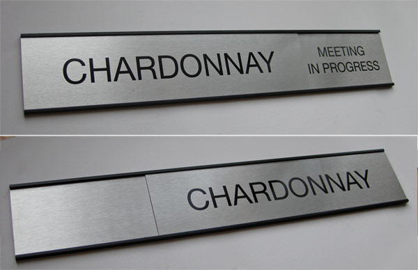XXL Changing Message Slider Signage Office Sign Companys Blog - Conference room door signs for offices