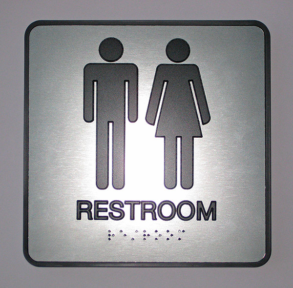 Bathroom Signs Braille ada compliant braille signs | office sign company's blog