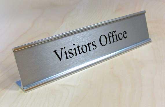 Executive Desktop Signs & Corporate Door Signs | Office ...