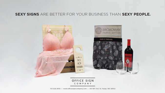 SEXY SIGNS AD 1